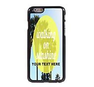 personnalisé cas de téléphone - marcher sur grignotant cas design en métal pour iPhone 6