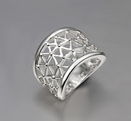 Statement Rings Sterling Silver Fashion Statement Jewelry Silver Jewelry Party 1pc