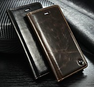 "CaseMe Leather Magnet Flip Case For iPhone 6 Unique Magnet Design case For iPhone6 4.7 ""(Assorted Color)"