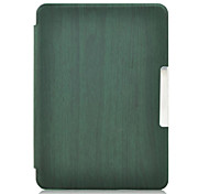 Shy Bear™ 6 Inch Wooden Style Leather Cover Case for Amazon New Kindle 2014 (Kindle 7) Ebook