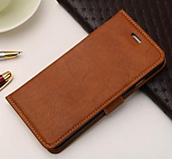 Head Skin Solid Color High Quality Genuine Leather Case for iPhone 6 (Assorted Colors)