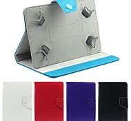 "Faux Leather Stand Flip Case with Magnetic Closure for 9"" Universal Tablet PC (Assorted Colors)"