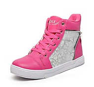 Chao Xi CAX New Type Women's High-Top Flat Shoes Double Zipper Personality Shoes