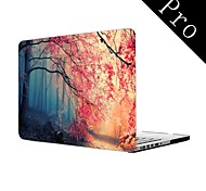 "Pink Autumn Forest Design Full-Body Protective Plastic Case for MacBook Pro 13""/15"" (Non-Retina)"