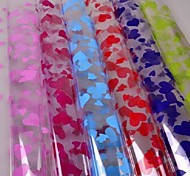 coloridas celofanes pacote de plástico (10pcs) cor aleatória