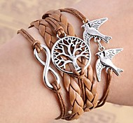 Woven Small Accessories Metal Bracelet B514