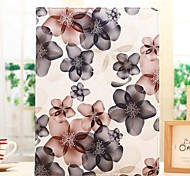 Fashion Lucky Flower Grain Rotation PU Full Body Case with Stand for iPad 2/3/4