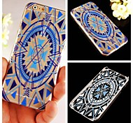 Blue Geometry Pattern Hard Back Case for iPhone 6