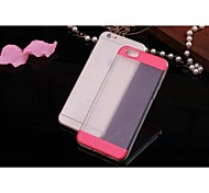 Fashion After Flash Powder Transparent TPU Mobile Phone Shell for iPhone 6 Plus (Assorted Colors)
