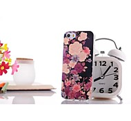 Glare Flower Pattern TPU Soft Case for iPhone 6