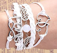 Woven Small Accessories Metal Bracelet B541 inspirational bracelets