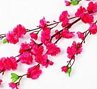"""47.2 """"l conjunto de um naturais 60 cabeças flor de pêssego de seda flores de pano (cores sortidas)"""