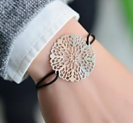 Fashion Women Cut Out Stamping Elastic Bracelet