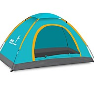 FlyTop ® 3-4 Person Rain-Proof Fold Tent for Beach Camping LZ01