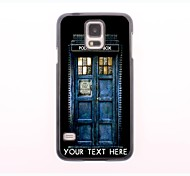 Personalized Phone Case - House Design Metal Case for Samsung Galaxy S5 mini