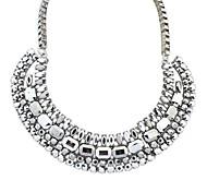European Style Fashion Temperament Metal Necklace