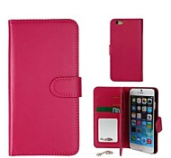 Litchi Mirror Cell Phone Holster Full Body Cases for iPhone 6 Plus (Assorted Colors)