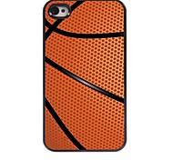 Basketball Design Aluminum Hard Case for iPhone 4/4S