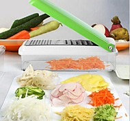 Multifunctional Vegetable Cutter,ABS 11×27×7 CM(4.3×10.6×2.8 INCH) Random Color