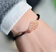 Women Charm Bracelet Nylon Unique Design Fashion Others Wings / Feather Silver Golden Jewelry 1pc