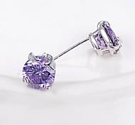 Fine Jewelry 925 Sterling Silver Earring Stud 1 Pair