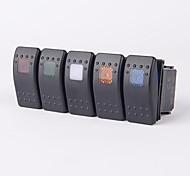 5 Farben Auto Boot LKW Offroad 12v 20a bar Kippschalter 3-polig LED-Licht (1pc)