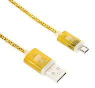 Micro USB Shining Perfume Charger Cable