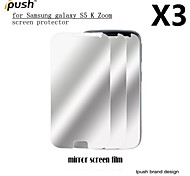 High Transparency Mirror LCD Screen Protector for Samsung Galaxy K Zoom (3 Pieces)