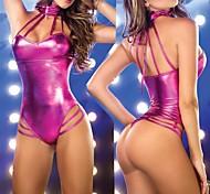 Hot Fashion Women Leather Sexy Uniform Sexy Clubwear