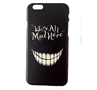 Smiling Face PC Hard Case for iPhone 6