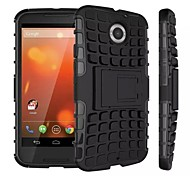 Kemile Unique Grenade Grip Rugged Rubber kin Cover For Moto +1 (Aorted Color)