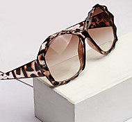 Anti-Reflective Oversized Plastic Retro Sunglasses