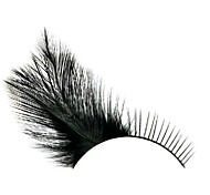 Yellow Feather Glow Carnival Eyelashes
