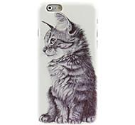 Cat Design Hard Case for iPhone 6