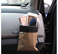 Car Carrying Bag Wind Outlet Hang Bags Automotive Drink Cup Holder (Random Color)