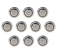 KuLei AG13/LR44/A76/357A/G13A/L1154 1.55V Alkaline Cell Button Batteries (10 PCS)