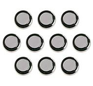 KuLei AG1/LR621/364/164/SR621SW 1.55V Alkaline Cell Button Batteries (10 PCS)