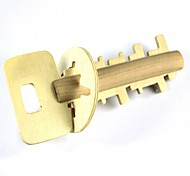 Wood Key Unlock Puzzle Toy
