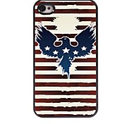 Eagle Design Aluminum Hard Case for iPhone 4/4S