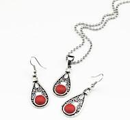 Schmuck-Halsketten / Ohrringe(Edelstein)Party / Alltag Hochzeitsgeschenke