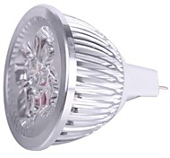 Focos Decorativa MR16 GU5.3 4.0 W 4 LED de Alta Potencia 400 LM white(5000-6500k) / warm white(2800-3500K) K Blanco Cálido/Blanco Fresco