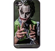 Clown Design Aluminum Hard Case for iPhone 4/4S