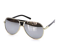 100% UV Men's flyer Plastic Retro Sunglasses