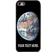 персонализированные случай случай земля металлическая конструкция для iPhone 5/5 секунд