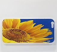 addly® eine hd Foto von Sonnenblumen auf einem PC harter Fall für iphone 6 gedruckt