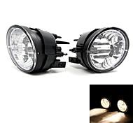 TIROL Fog Driving Light Lamp kit OEM Replacement for Armada/Titan Pickup Truck Smoke Front Bumper Lamps Pair