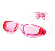 Jiehu unisex confortables antibuée portable étanches lunettes de natation