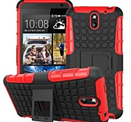 Kemile Unique Grenade Grip Rugged Rubber kin Cover For HTC Deire 610 (Aorted Color)