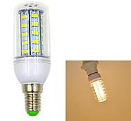 5W E14 LED лампы типа Корн T 36 SMD 5730 550 lm Тёплый белый AC 220-240 V