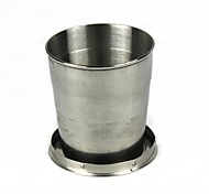 Stainless Steel Cup Silver Single